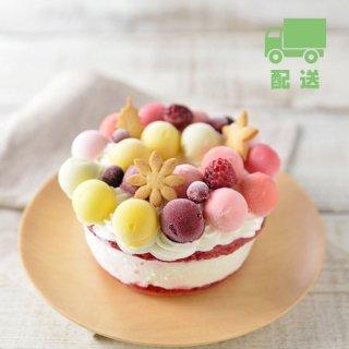 【ジェラートケーキ】フルーツブーケ ■ 配送(送料込) ■