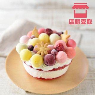 【ジェラートケーキ】フルーツブーケ ■ 店頭受取 ■