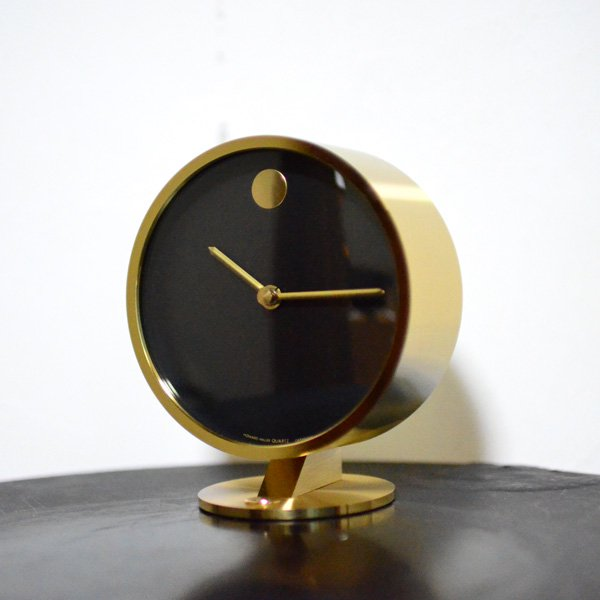 1970's 『HAWAERD MILLER』 MUSEUM TABLE CLOCK