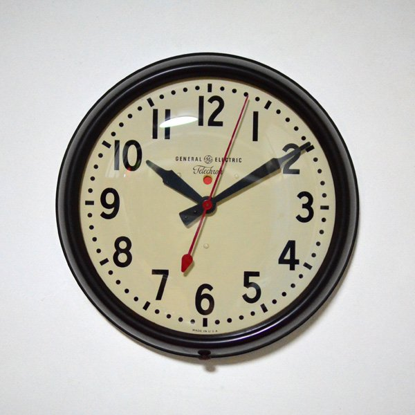 1940'S 『GENERAL ELECTEIC×TELECHRON』 SCHOOL CLOCK