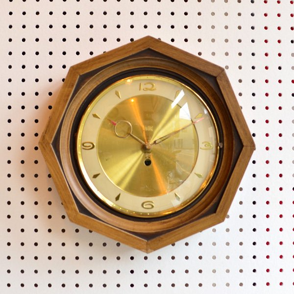 1950's 『TERNER』 WALL CLOCK