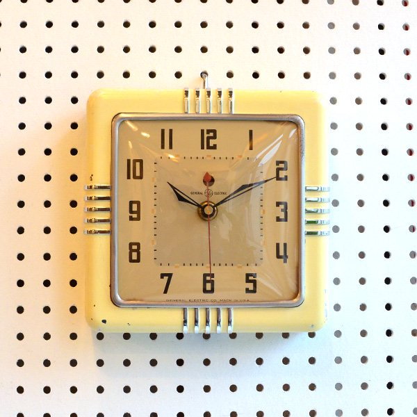 1950's 『GENERAL ELECTEIC』KITCHIN CLOCK