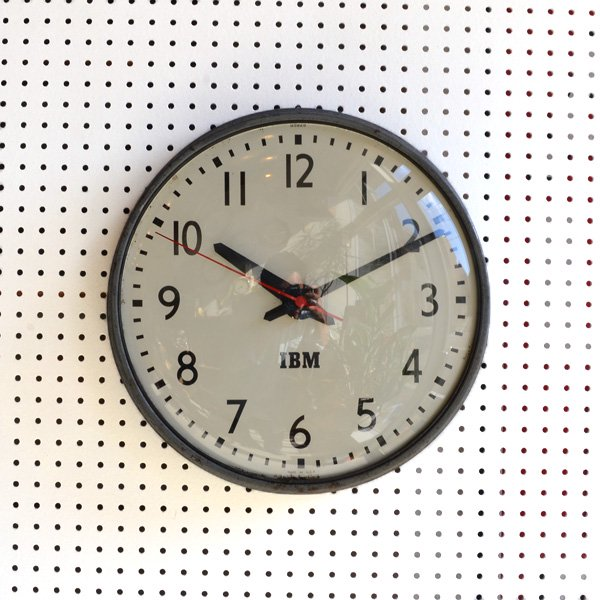 1950's 『IBM』 SCHOOL CLOCK