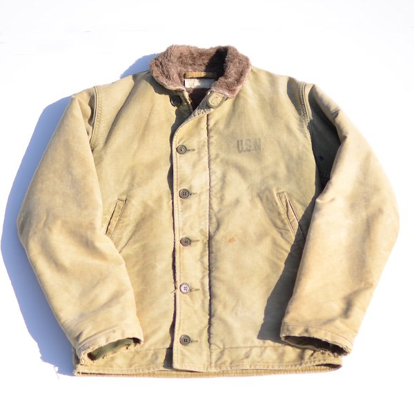 1940's 『U.S.NAVY』 N-1 DECK JACKET (36)