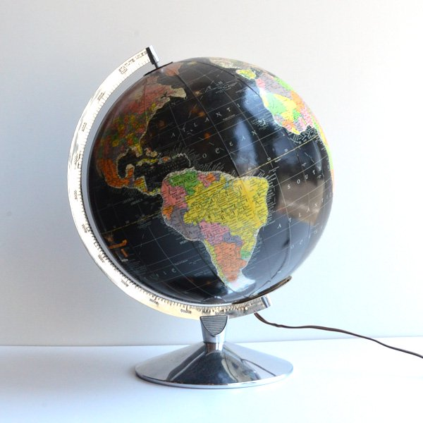 1960'S 『REPLOGLE GLOBES,inc.』GLOBE LAMP