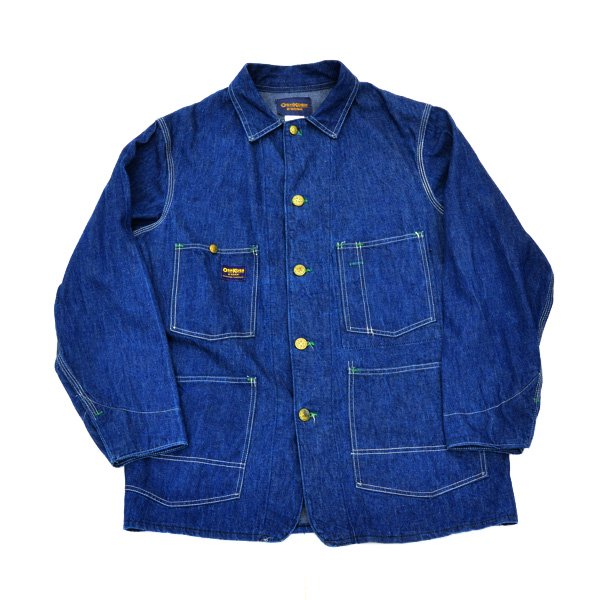 1960's 『OSHKOSH』 DENIM COVER ALL JACKET (40)