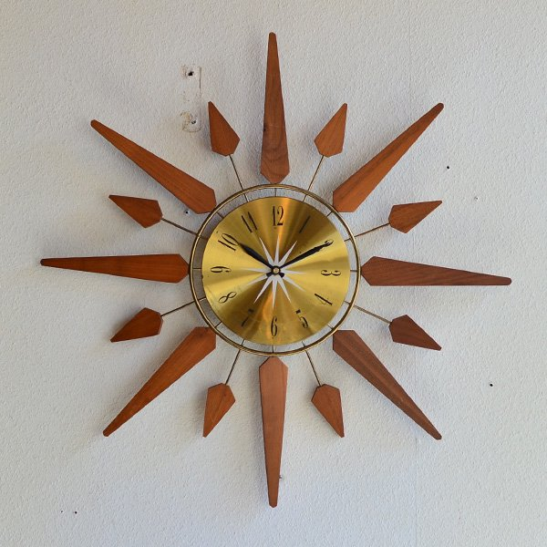 1960's 『SEARSE』 SUNBURST CLOCK