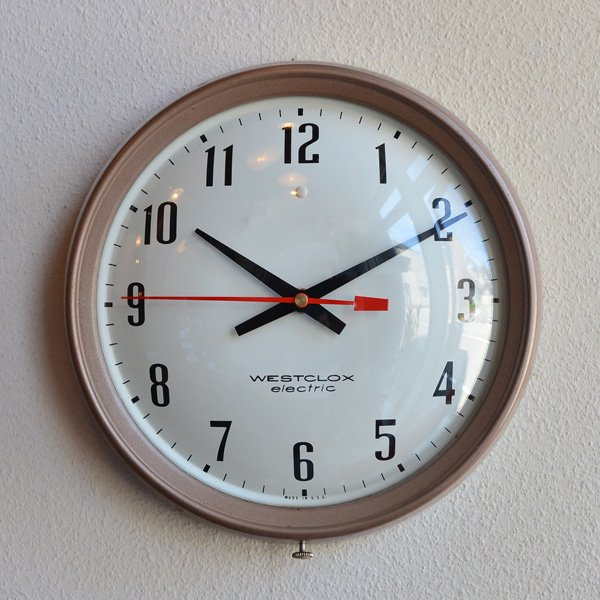 1960's『WESTCLOX』 SCHOOL CLOCK