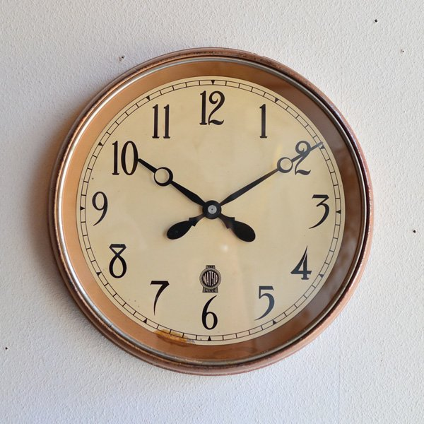 1930~40's 『THE NATSCO LINE』SCHOOL CLOCK