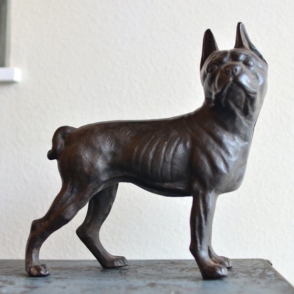 1950's『BOSTON TERRIER』 BANK DOOR STOPER