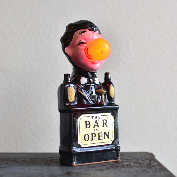 1950'S 『BAR IS OPEN』FUNNY DOLL