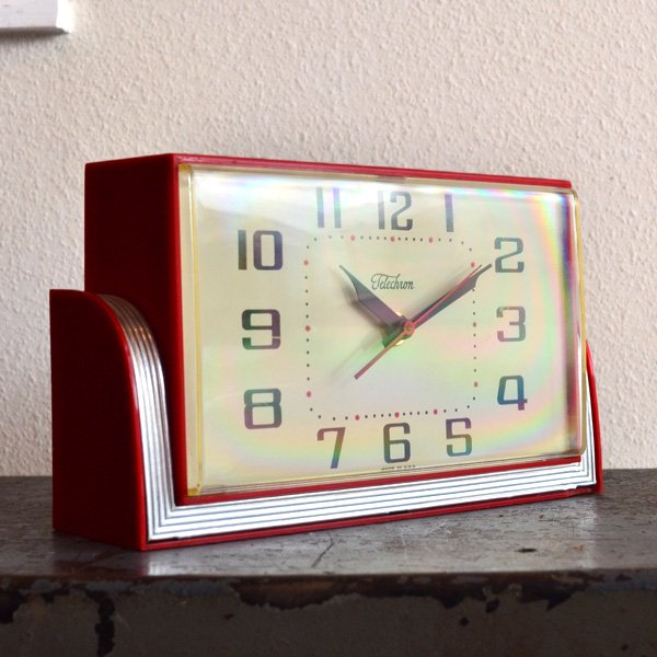 1970's 『TELECHRON』 TABLE CLOCK