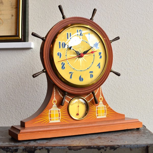1960's 『GIBRALTAR』 TABLE CLOCK