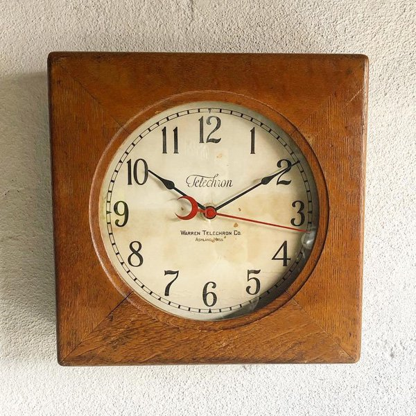 1920's 『TELECHRON』 SCHOOL CLOCK