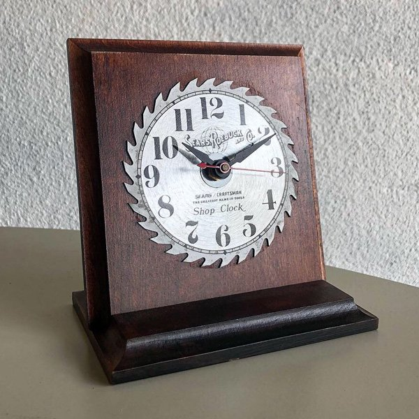 1970's 『SEARSE』 TABLE CLOCK
