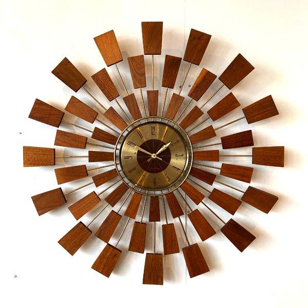 1970's 『SETH TORMAS』 SUNBURST CLOCK