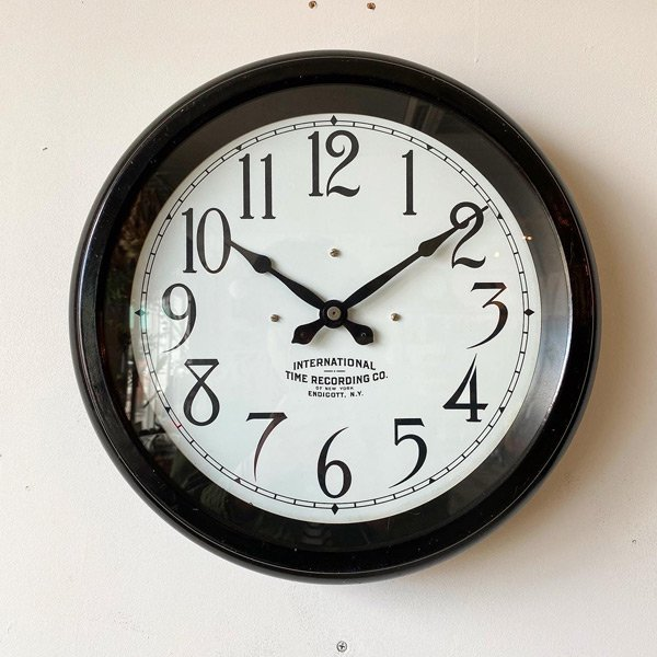 1930's 『IBM 』 SCHOOL CLOCK