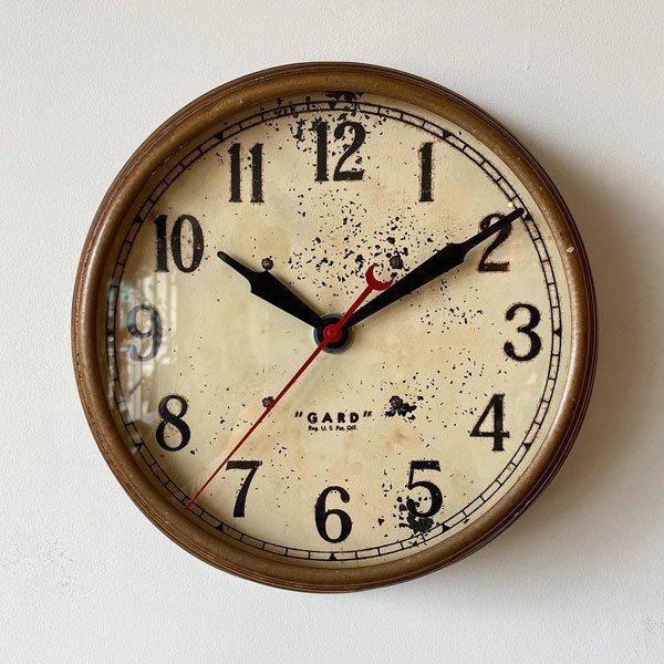 1930~40's『GARD』 SCHOOL CLOCK