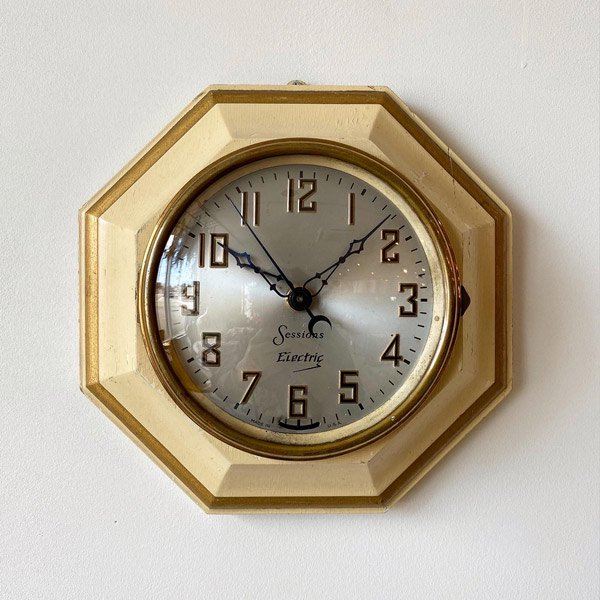 1940's 『SESSIONS』 KITCHIN CLOCK