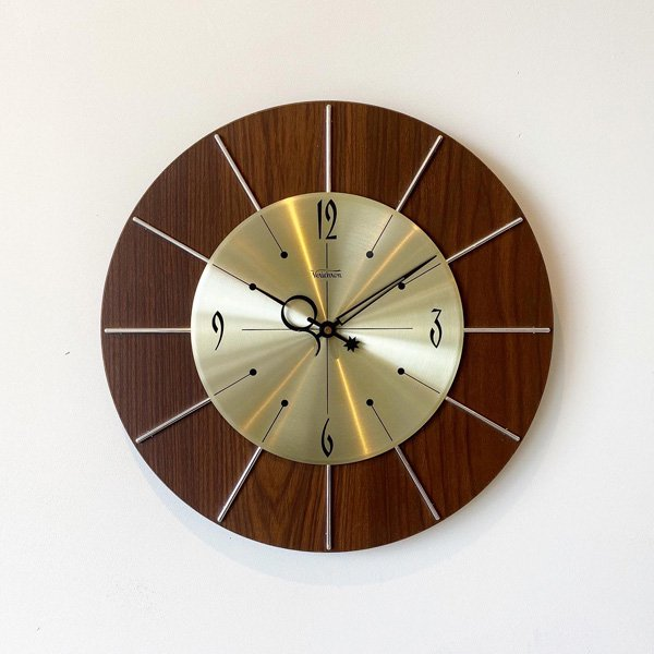 1970's 『VERICHRON』 WALL CLOCK