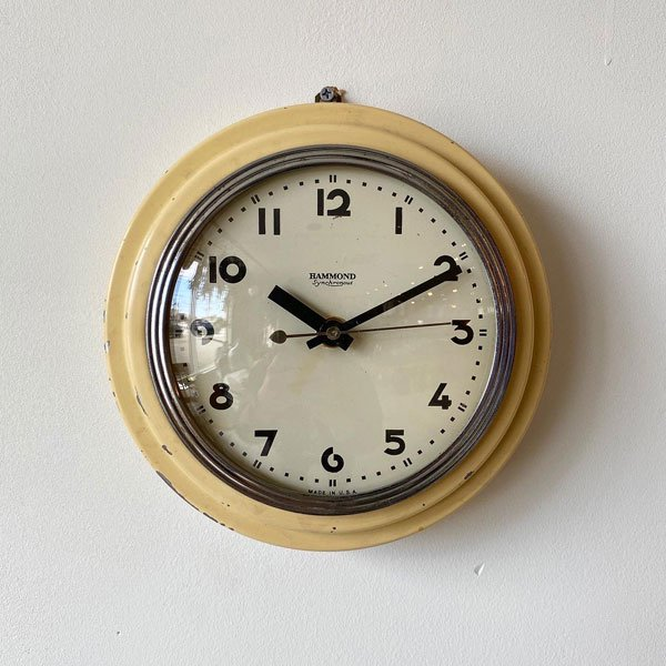 1930's 『HAMMOND SYNCHRONOUS』KITCHIN CLOCK