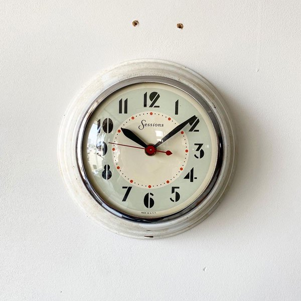 1950's 『SESSIONS』 KITCHIN CLOCK