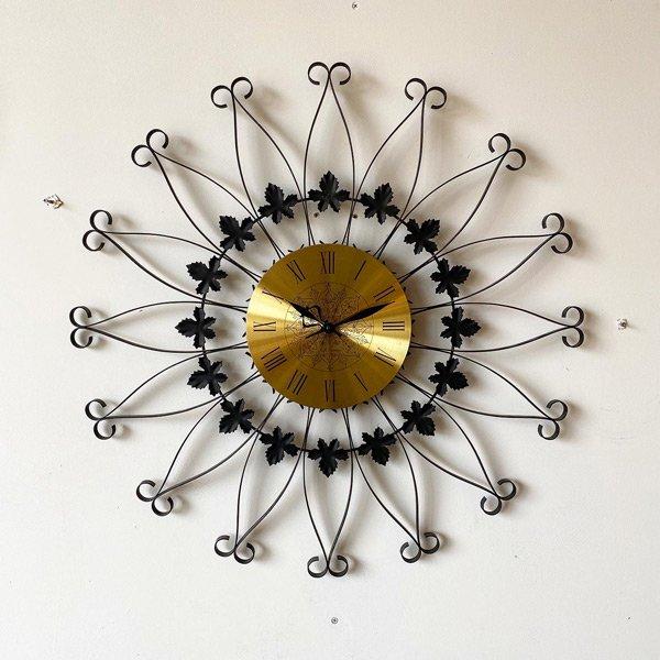 1960's 『SETH TORMAS』 SUNBURST CLOCK