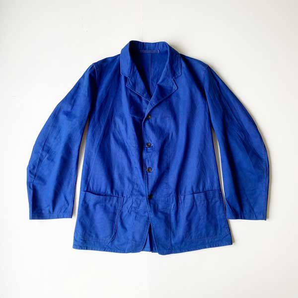 1940~50's 『BRITISH ARMY』 BLUE DRILL HOSPITAL JACKET