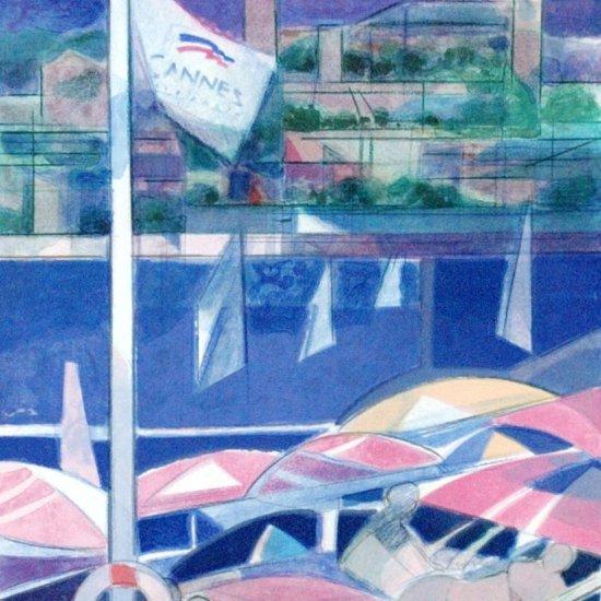 カンヌの青い海 【SOLD OUT】