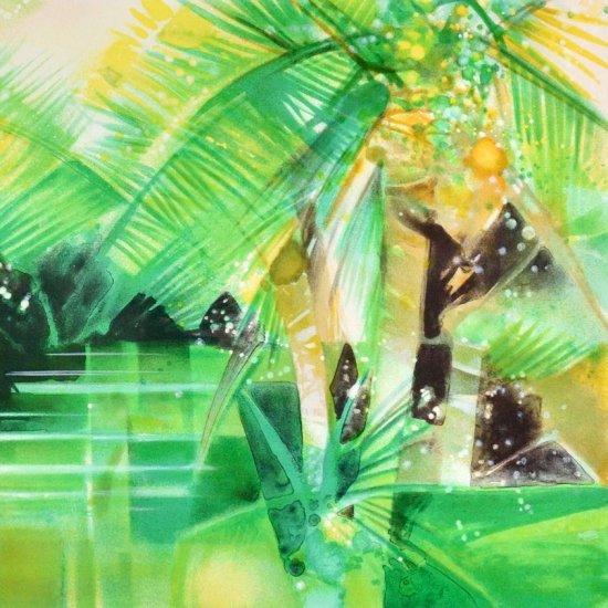 緑の水面 【レンタル使用品】