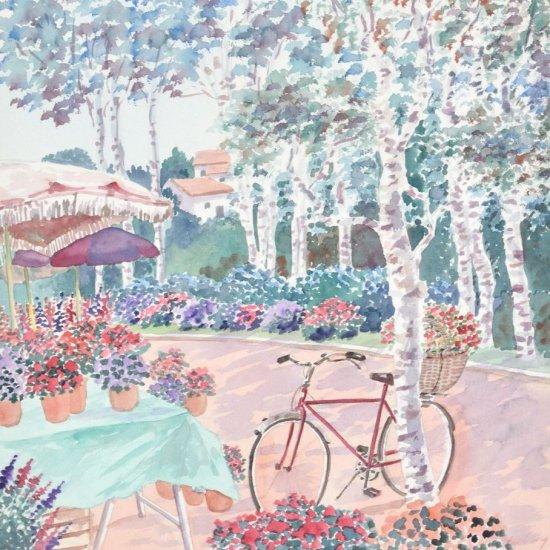 花の自転車【SOLD OUT】