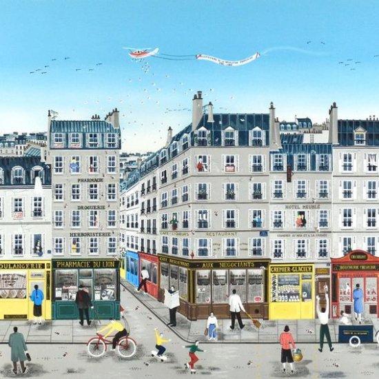 パリの街角【SOLD OUT】