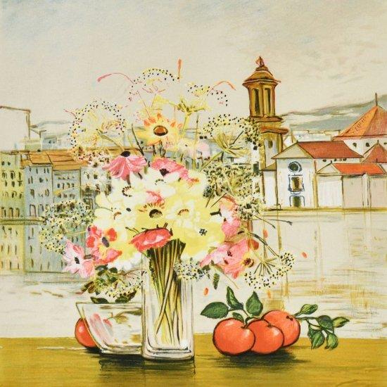 果物と黄色い花束【SOLDOUT】
