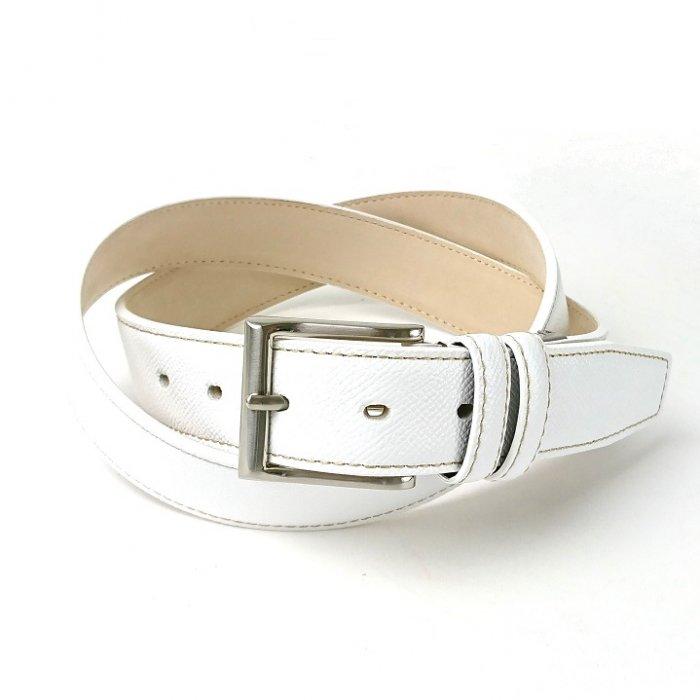 【ボレロ】革がキズ付きにくいカラーバリエーション豊かなベルト  シボタイプ型押しベルト