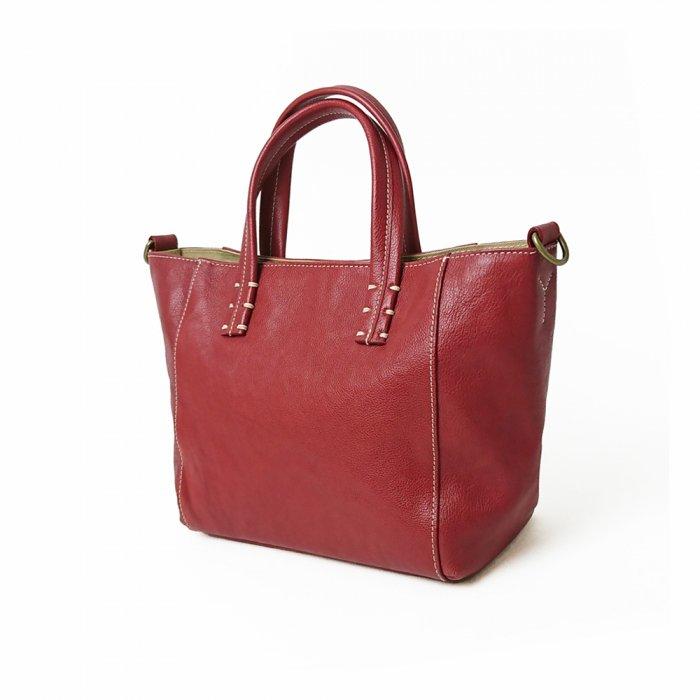 【アウトレット/レディスバッグ】色も形も可愛くて、持っているだけでウキウキしてくるレザートートバッグ  トートバッグ(小)