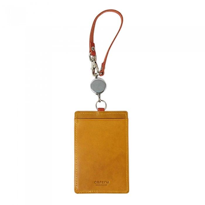 【モニカ】発色豊かな国産レザを使ったおしゃれなパスケース  単パスケース