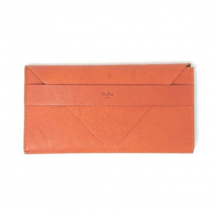 【アウトレット/ペラペラ(日本製)】革の表裏に色が着いている可愛いアクセサリーみたいな財布 長財布 ※在庫限り限定特価