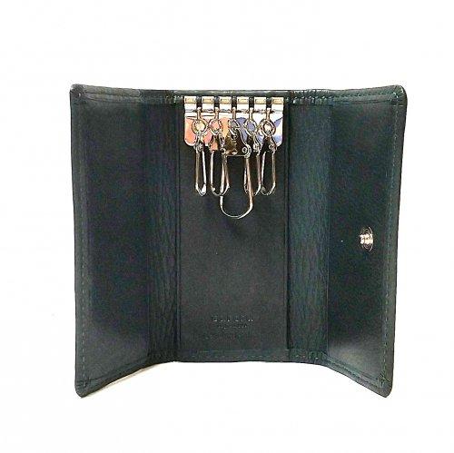 【アウトレット/カーフ】仔牛の革でできたソフトな手触りが特徴のキーケース キーケース