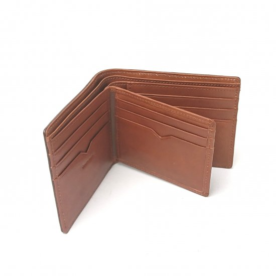 【ピケット】革の王道・ベジタブルレザーを使ったカードがたくさん入る純札入れ<br>純札入れ(ベラ付き)
