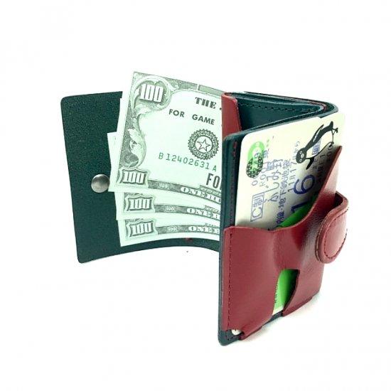 【コンパクト】カラフルな色揃いがキュートな三つ折り財布 三つ折りウォレット