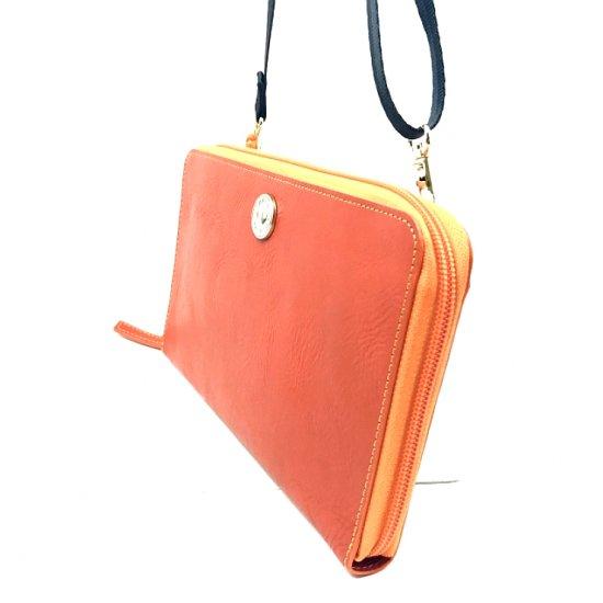 【アウトレット/モニカ】カルクルらしい色使いがキュート。スマホも収納できる便利なポシェット お財布ポシェット