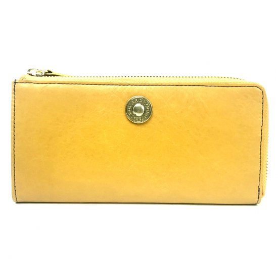 【モニカ】カルクルらしい色使いがキュートな長財布<br>L字ファスナー長財布