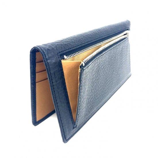【アリゾナ】イタリアンベジタブルレザーを使った薄型長財布<br>薄型長札入れ
