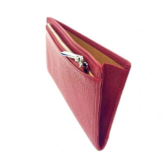 【アリゾナ】イタリアンベジタブルレザーを使った本格化超薄型コンパクト長財布<br>超薄型コンパクト長財布