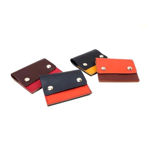 【ビー・ピスク/モニカ】カルクル定番のコンパクト札入れ コンパクト財布