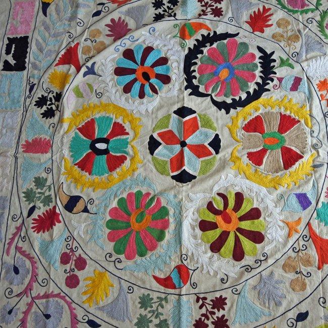 スザニ インドの刺繍布 B