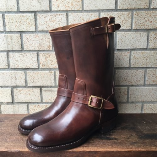 CLINCH SPECIAL HORSE HIDE ENGINEER BOOTS