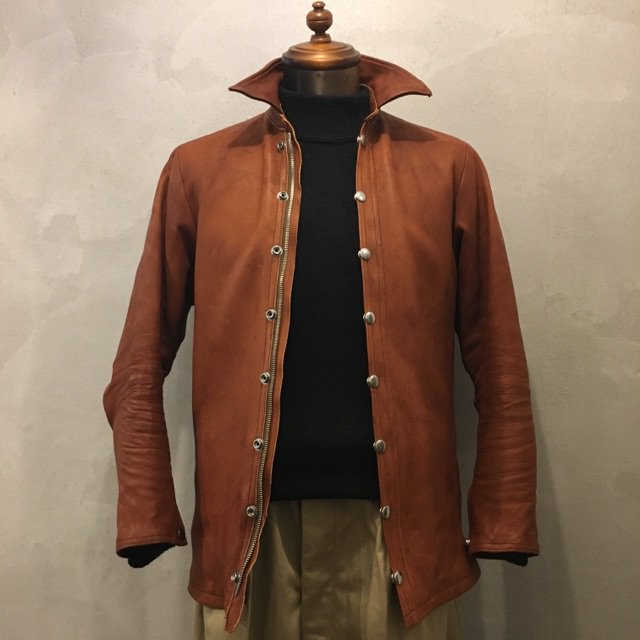 "SIGNAL GARMENTS別注  Far Eastern Enthusiast ""C.M.M.LEATHER SHIRTS"""