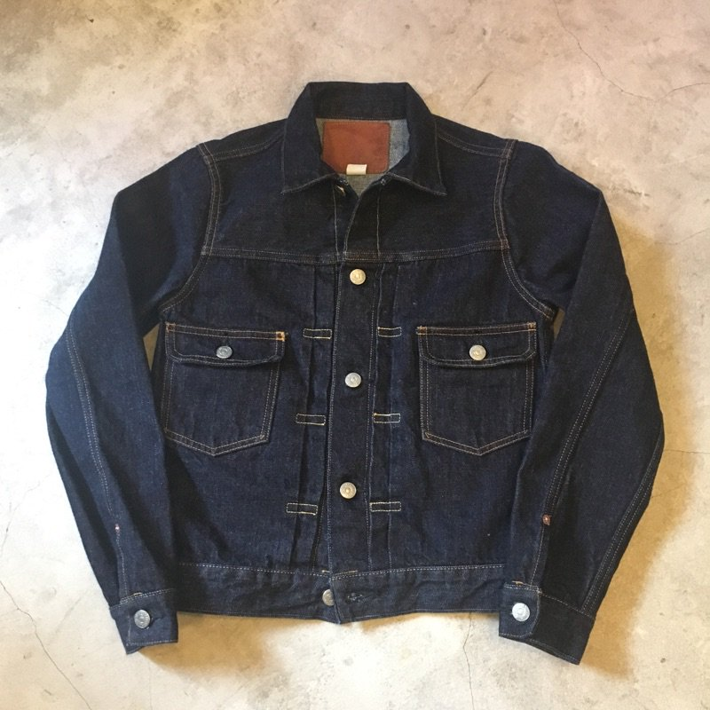"LENO      ""PATRICIA""      2nd TYPE JEAN JACKET"