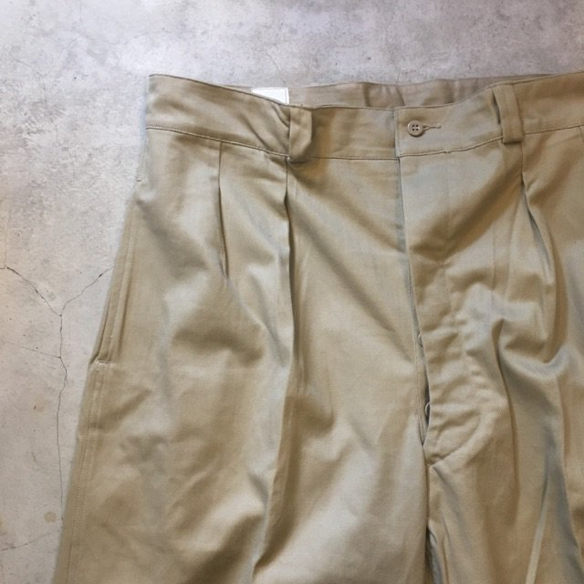 "N.O.S. 1960's ""FRENCH ARMY CHINO""     SIZE16"